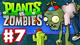 Plants Vs. Zombies Gameplay Walkthrough Part 7 World 4