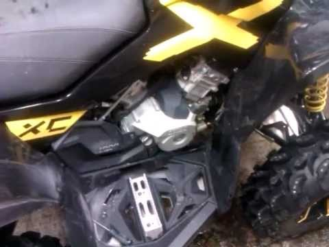 Can-Am Renegade/Outlander Engine Oil Change, How to
