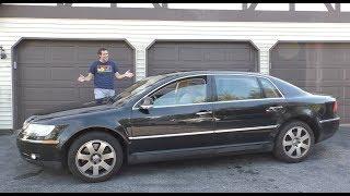 The Volkswagen Phaeton W12 Was a $120,000 VW Ultra-Luxury Sedan