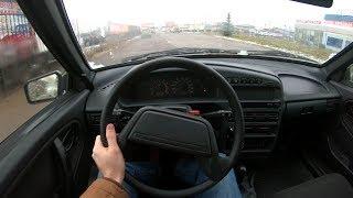 2014 ВАЗ 2114 Samara POV Test Drive. MegaRetr