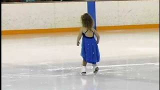 Three yrs old lil girl Ice skating..