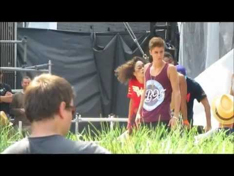 All Around the world/Boyfriend - Justin Bieber MMVAS Soundcheck june 16 2012