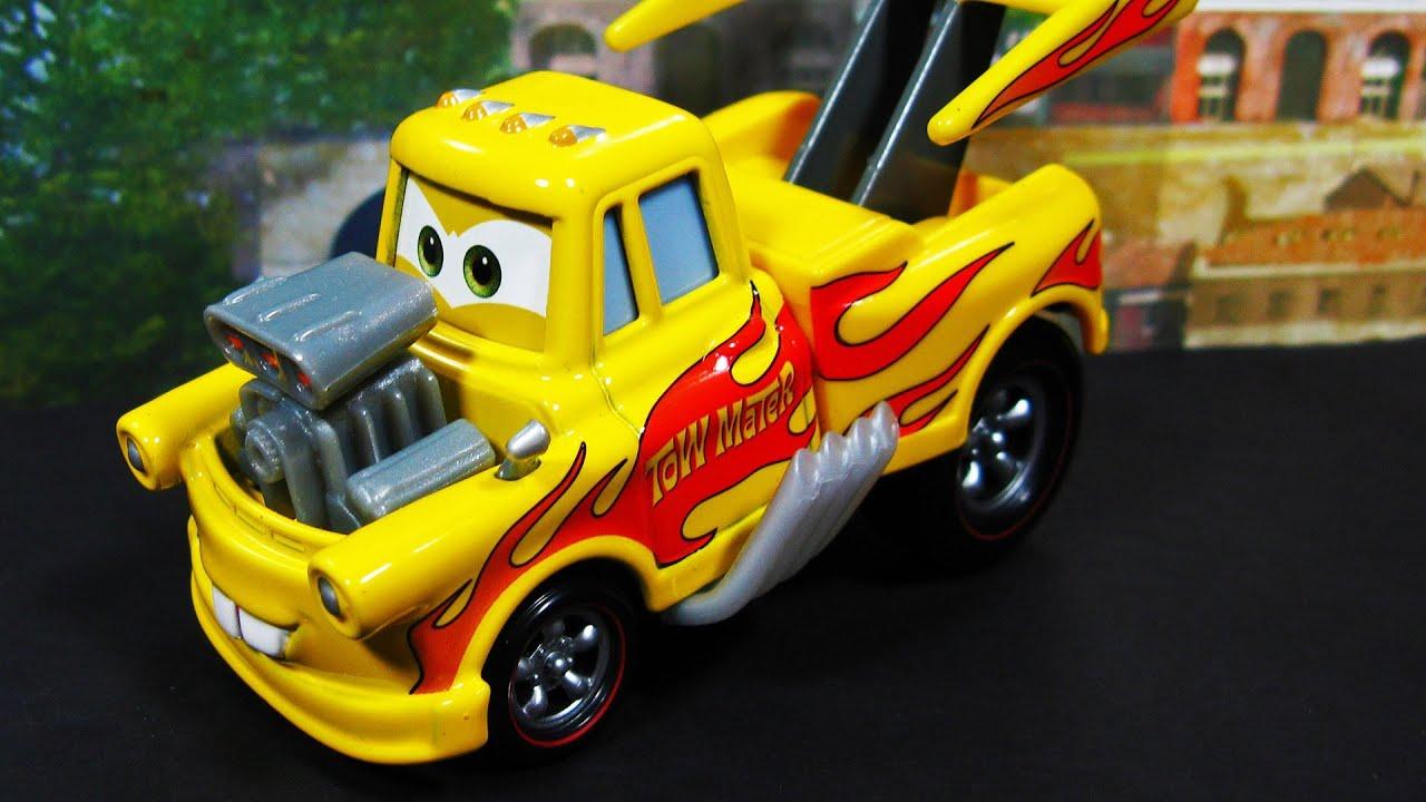 Disney Cars Toys Youtube: Cars 2 Mater Funny Car Deluxe #12 Diecast Mattel Disney