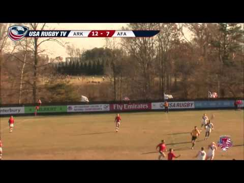 2013 USA Rugby College 7s National Championship: Arkansas vs Air Force