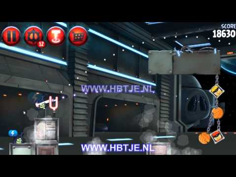 Angry Birds Star Wars 2 Naboo Invasion p1-8 3 stars