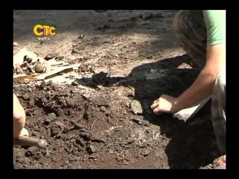 Раскопки в центре Курска