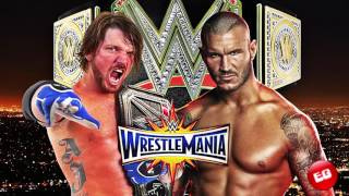 Wrestlemania 33 Dream Match Card