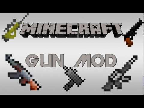 Best Minecraft Mod | Heuristick´s Gun Mod | Snipers, Shotguns, Grenade Launchers & More !