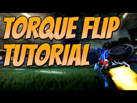 FASTEST WAY TO FLIP IN ROCKET LEAGUE | 'Torque Flip' Tutorial (Rocket League Tips / Guide)