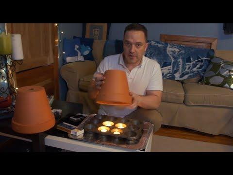 How T Heat A Room Tea Lights Clay Pots
