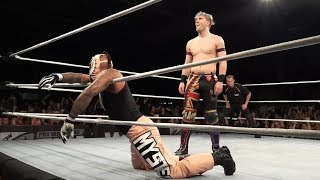 Rey Mysterio vs. Will Ospreay (Pro Wrestling World Cup - Round Of 16)