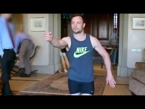 Oscar Pistorius Reenactment Video of  Shooting Reeva Steenkamp Released