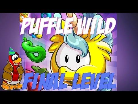 Club Penguin Puffle Wild iOS App Gameplay - Final Level