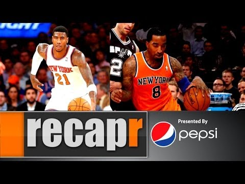 Recapr - With JR Smith back in, is Iman Shumpert out...of town?