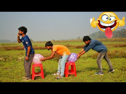 Must Watch New Funny Video😜Top New Comedy Video 2019। ।Episode 07। Try To Not Laugh |By The Fun Clu