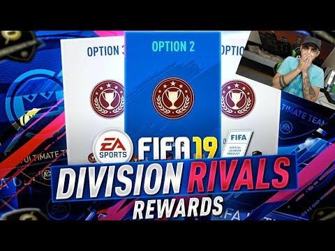 FIFA 19 DIVISION RIVALS REWARDS + PACKOPENING  |GallianoGaming