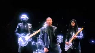 Daft Punk Get Lucky Ft. Pharrell Williams 10 Hours