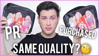 PR VS. PURCHASED - KYLIE COSMETICS! IS THE QUALITY DIFFERENT?!