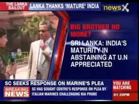 Sri Lankan High Commissioner mocks India's capitulation