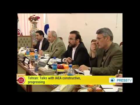 Tehran : Talks with IAEA constructive, progressing