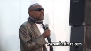 Deacon Daniel and Megabe-Hadis Eshetu at Topia Jazz poetry
