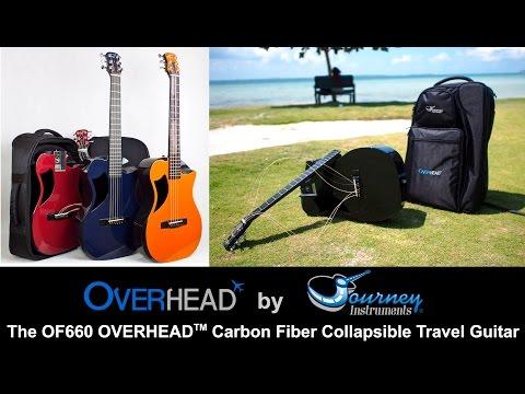Journey Instruments Overhead OF660 Carbon Fiber Travel Guitar Review