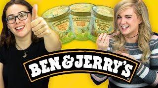 Irish People Taste Test Ben & Jerry's