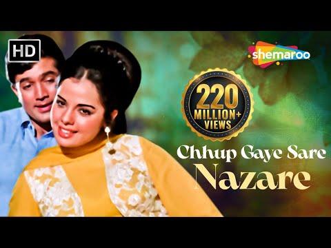 Chhup Gaye Sare Nazare - Rajesh Khanna & Mumtaz - Do Raaste - Bollywood Hit Love Songs