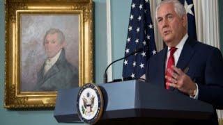 وزير الخارجية الأمريكي يجدد دعمه لترامب وينفي وجود خلاف مع الرئيس |