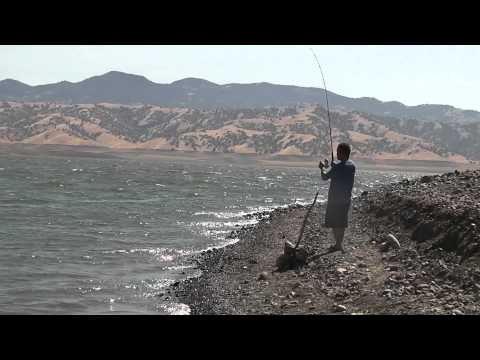 San luis reservoir striper fishing phim video clip for San luis reservoir fishing
