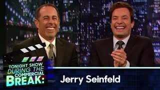 Jimmy Fallon and Jerry Seinfeld During The Commercial Break