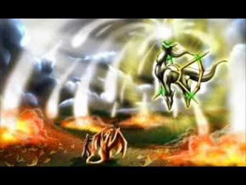 Arceus-pokemon mạnh nhất từ trước đến nay
