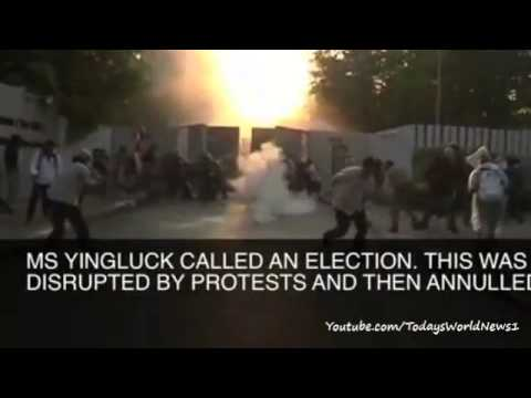 The battle to oust Yingluck Shinawatra - in 60 seconds