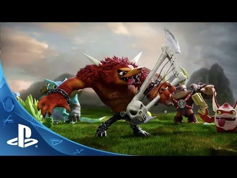 Skylanders Trap Team Reveal Trailer