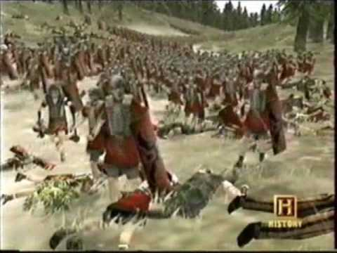 battle of the teutoburg forest The battle of the teutoburg forest (described as clades variana by roman historians) took place in ad 9 (probably lasting from september 9 to september 11) when an alliance of germanic tribes led by arminius, the son of segimer of the cherusci, ambushed and destroyed three roman legions led by.