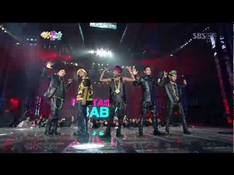 121229 2012 SBS Gayo Daejun _ BIGBANG - CRAYON + FANTASTIC BABY