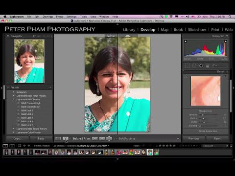 Học Lightroom 4 - 046 Xử lý ảnh chân dung 3