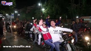 جمهور الكوكب المراكشي يبدع في الاحتفال بتتويج الوداد في شوارع المدينة الحمراء |