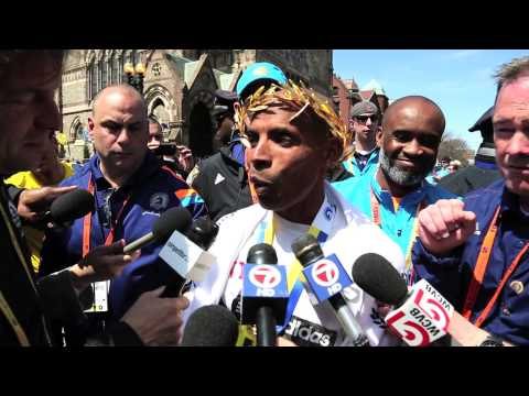 Meb Keflezighi - Boston Marathon 2014 Champion