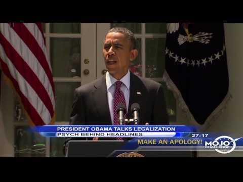 President Obama Talks Marijuana Legalization