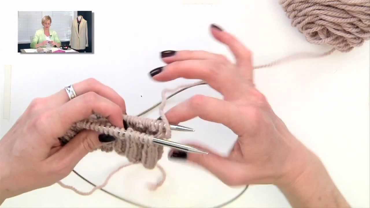Knitting Help - Simple Magic Loop - YouTube