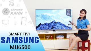 Dòng Smart Tivi Cong Samsung MU6500 - Tinh tế trong từng đường nét | Điện máy XANH