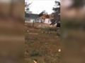 Raw: Debris Left in Wake of Georgia Tornado