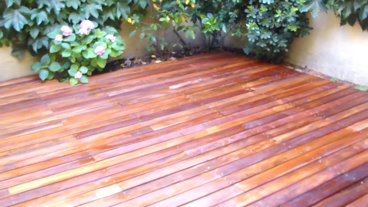 Instalacion decks de madera curupay plastificadora - Instalacion piso madera ...