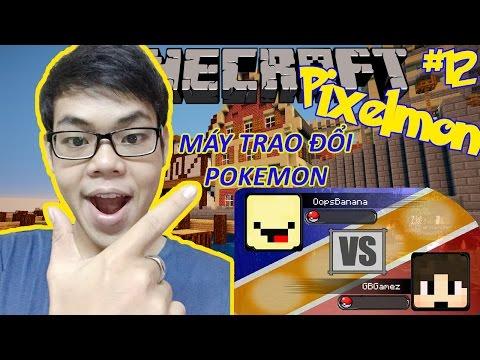 Oops Club Minecraft Pixelmon Survival - Tập 12: MÁY TRAO ĐỔI POKEMON, TIẾN HÓA POKEMON THỜI TIỀN SỬ