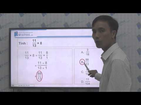 [Toán tiểu học] [Toán 4, Toán lớp 4] - Phép nhân phân số - [LIKA-K12School]
