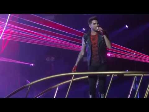 Queen & Adam Lambert - Radio Gaga - Dallas, TX