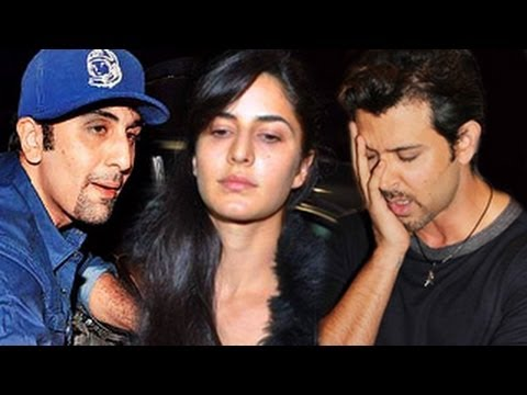 Ranbir Kapoor & Katrina Kaif FIGHT in public for Hrithik Roshan