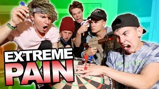 EXTREME DART BOARD CHALLENGE (GONE WRONG)