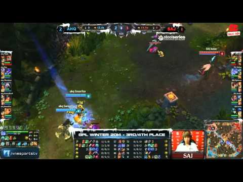 [GPL 2014 Mùa Đông] [Tranh 3-4] [Game 4] Saigon Jokers vs  AHQ e-Sports Club [08.01.2014]